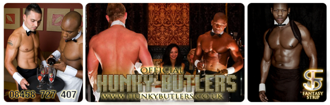 Butlers in the buff Edinburgh